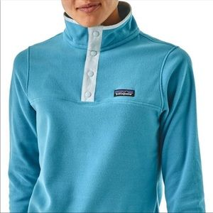 •PATAGONIA• Women's Micro D Fleece Pullover Snap T